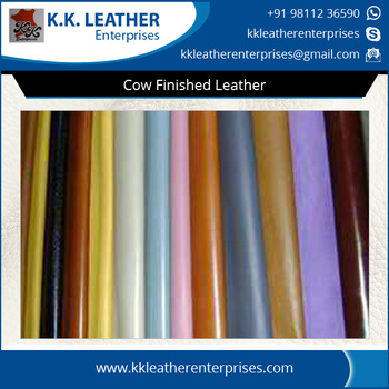 Cow Finished Leather