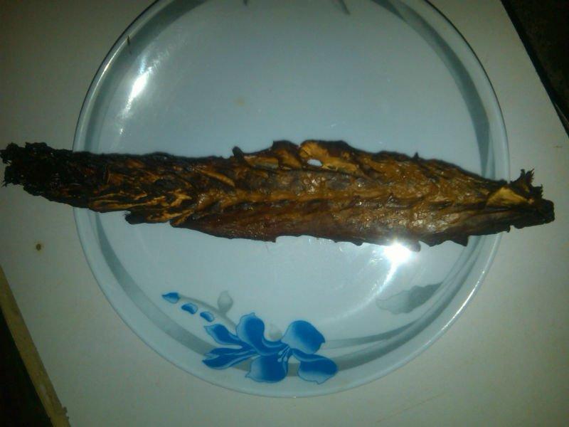 Smoked Dried Barracuda