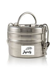 2 Tier Indian Tiffin Lunch Box
