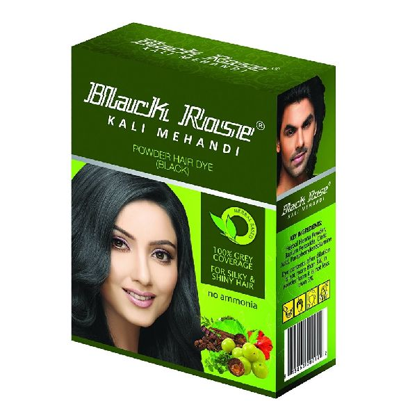 Powder Hair Dye Black hair color