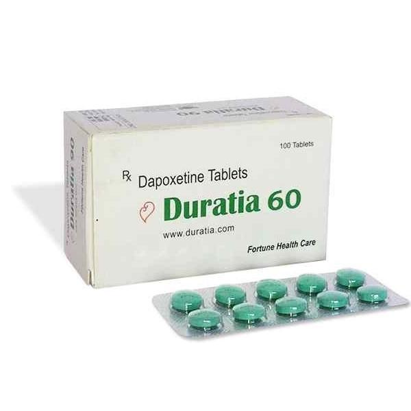 Duratia 60mg Tablets
