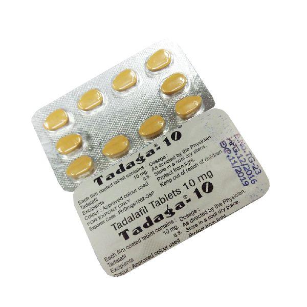 Tadaga-10mg Tablets