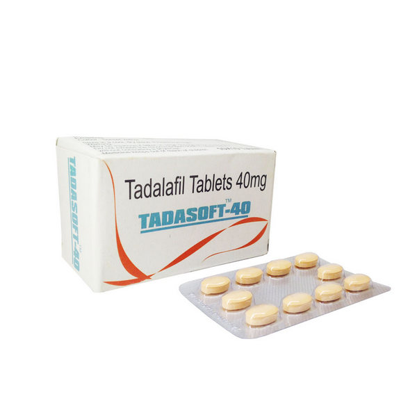 Tadasoft 40mg Tablets