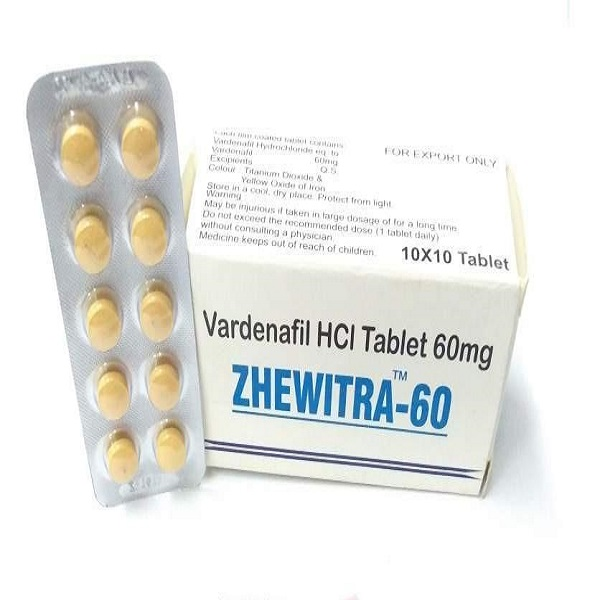 Zhewitra 60mg Tablets