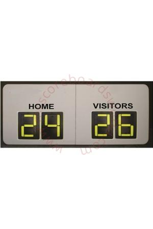 4 Digit Gridiron Scoreboard