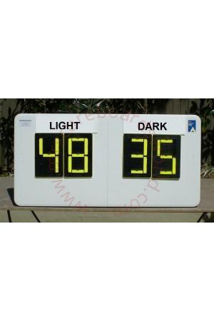 4 Digit Netball Self Supporting Scoreboard