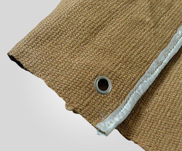 Vermiculite Coated Fabric