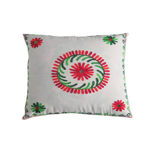 Embroidery Cushion Cover 02