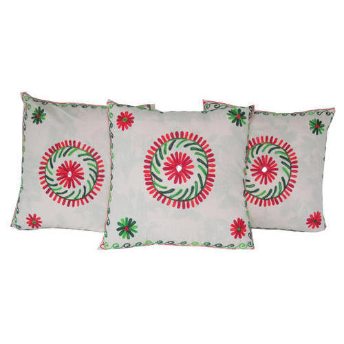 Embroidery Cushion Cover 03