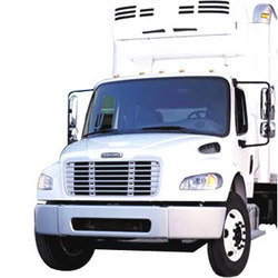 Refrigerated Truck Transportation For Frozen Food