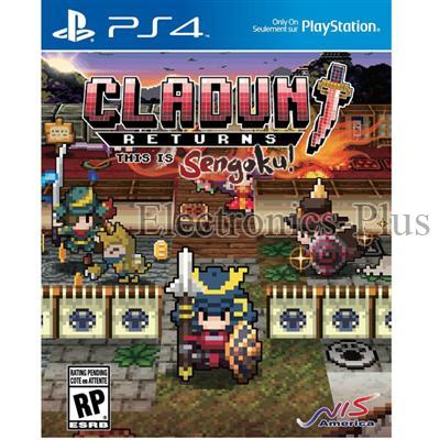 PS4 Cladun Returns Sengoku Video Game