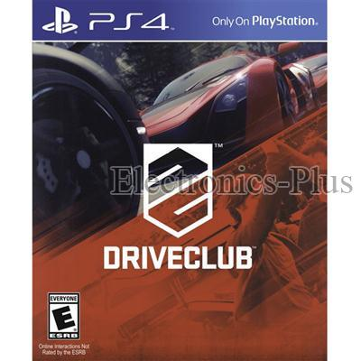 PS4 Drive Club Video Game