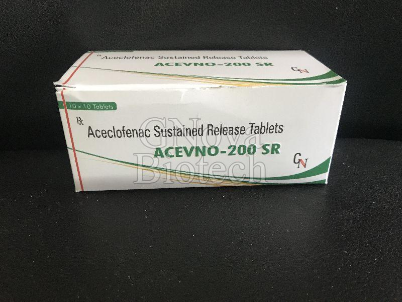 Acevno-200 SR Tablets