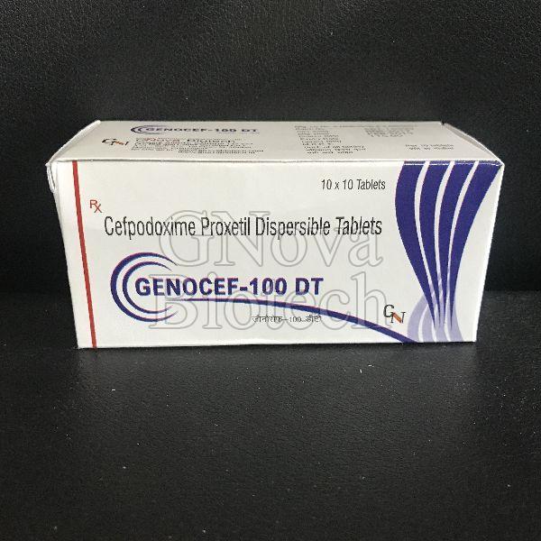 Genocef-100 DT Tablets