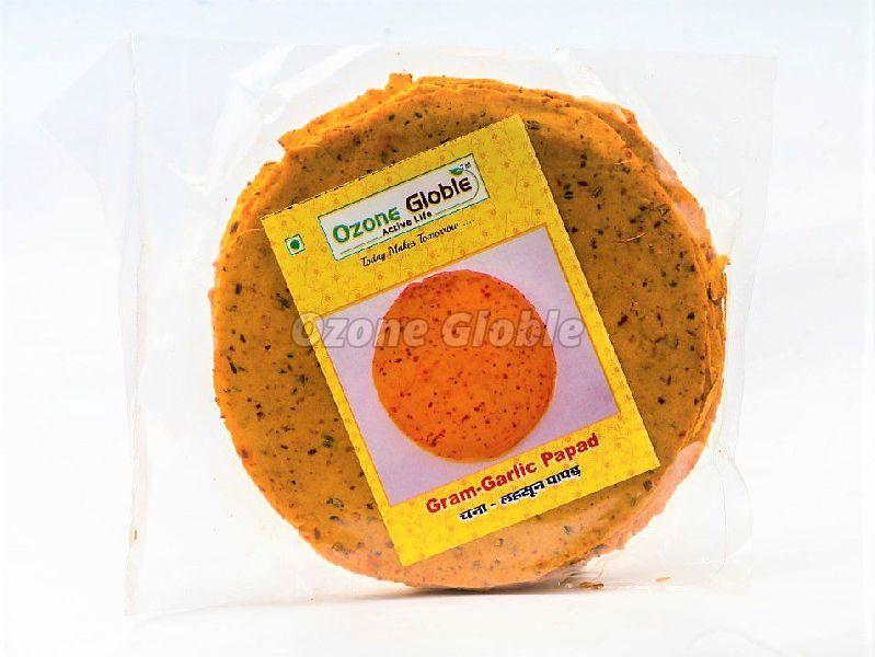 Gram Garlic Papad