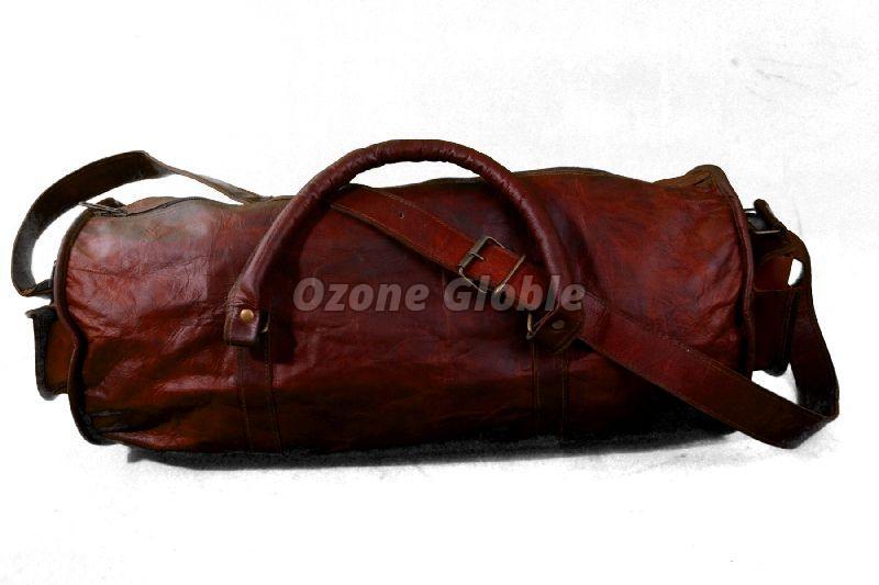 Leather Duffel Bag 02
