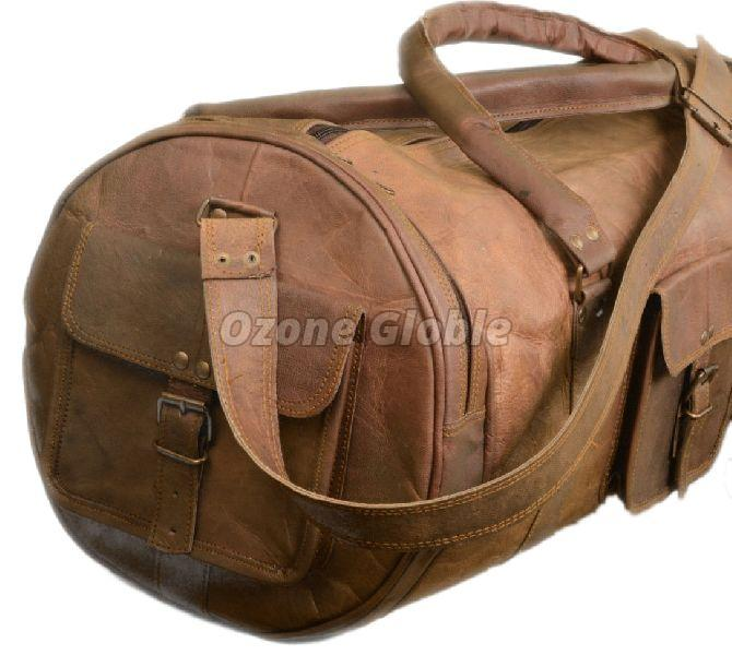 Leather Duffel Bag 03