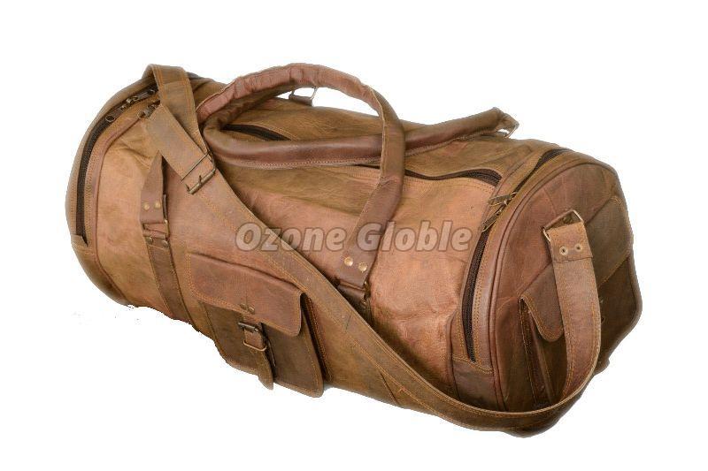Leather Duffel Bag 04