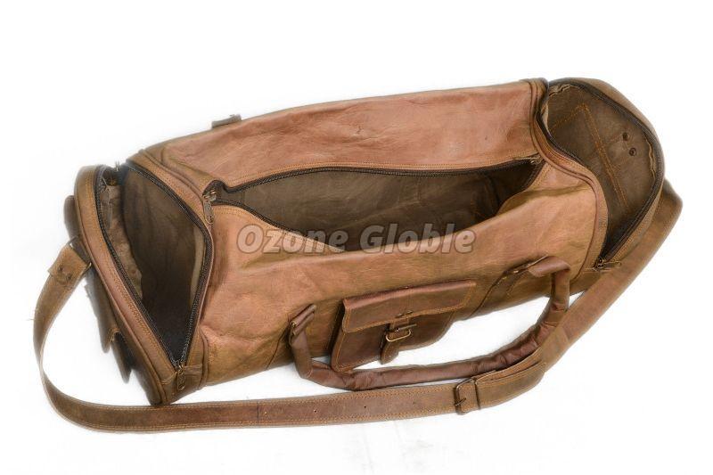 Leather Duffel Bag 05