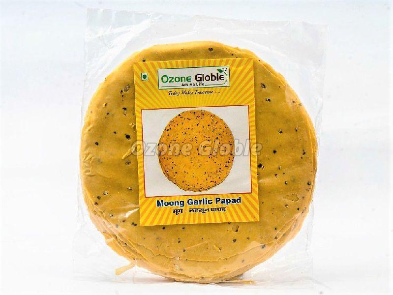 Moong Garlic Papad