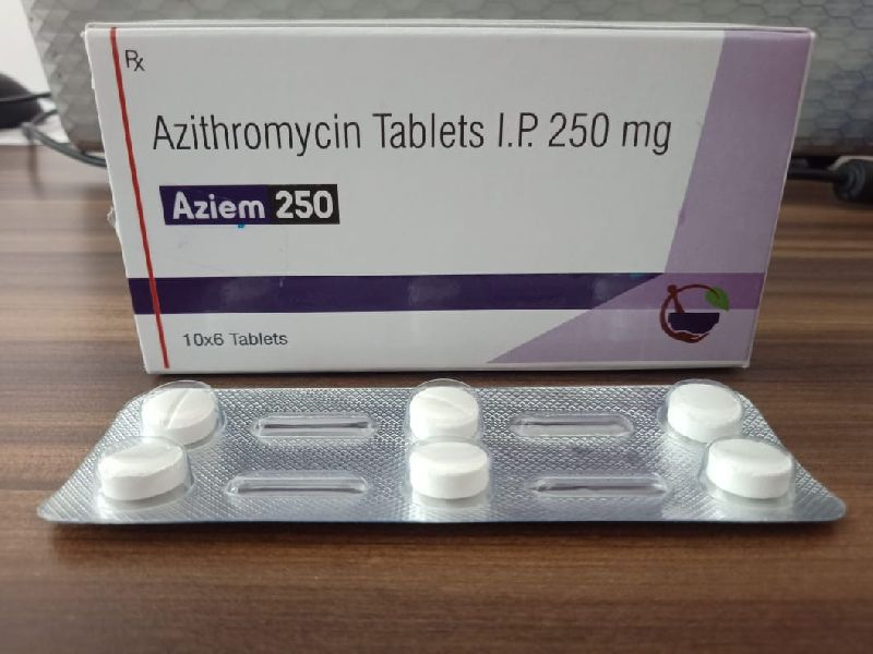 Azithromycin 250mg Tablets