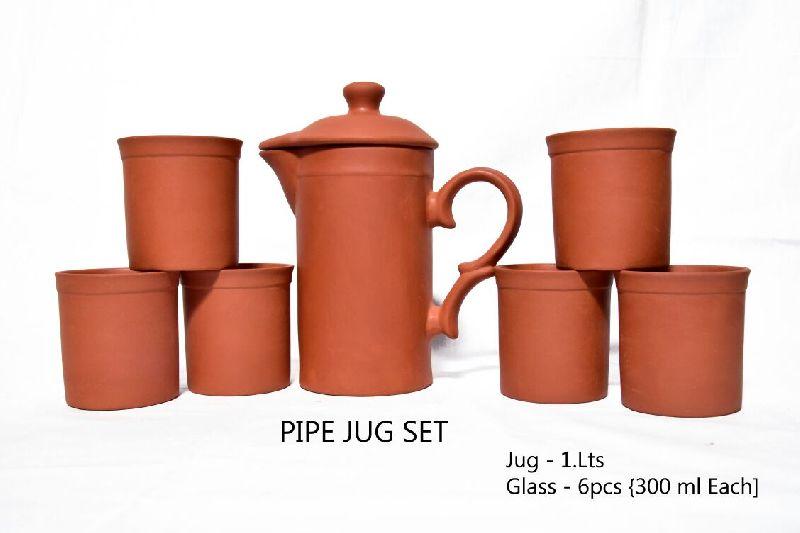 Mud Pipe Jug Set