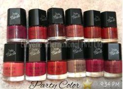 Party Color Nail Paint Set