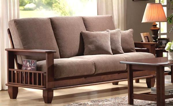Sheesham Wood Sofa Set 02