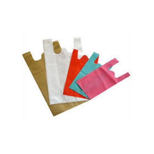 Plain W Cut Non Woven Bags 01
