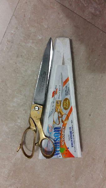 Brass Handle Delux Shape Tailor Scissor