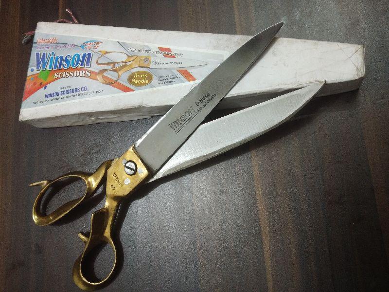 Winson Brass Handle Kandar Heavy Tailor Scissor