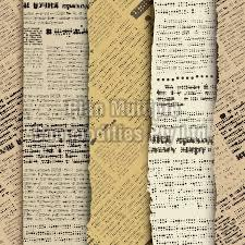 Old Newspaper Scrap