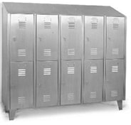 Stainless Steel Apron Locker
