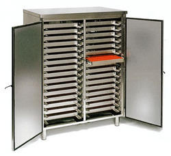 Stainless Steel Tray Cabinet