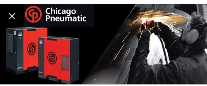 Chicago Pneumatic Air Compressor 02