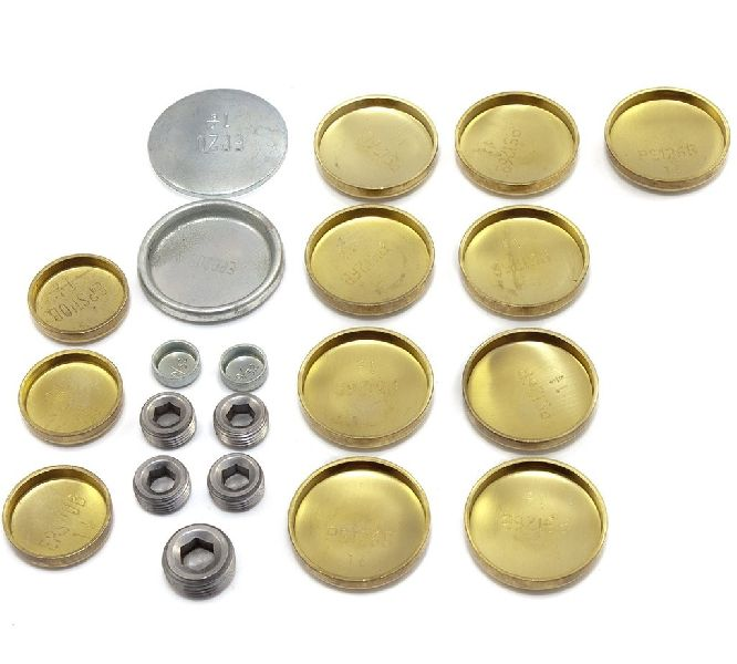 Brass Welch Plug Kit