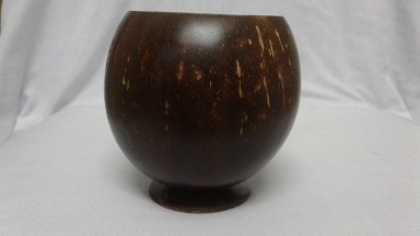 Coconut Shell Mug Polished