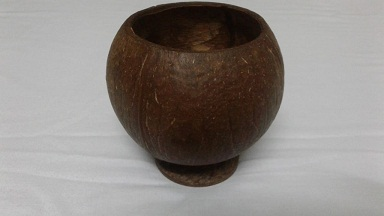 Coconut Shell Mug Unpolished