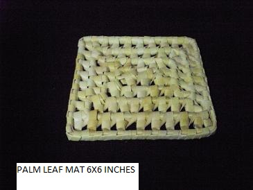 Palm Leaf Mat