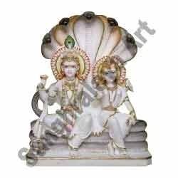 Marble Lord Vishnu Statue
