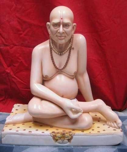 Marble Swami Samarth Statue