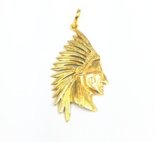 Gold Plated Charms Pendant