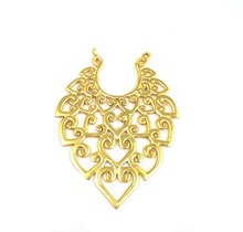 Gold Plated Fancy Design Earring