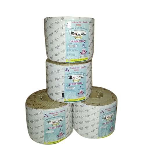 PP Semi Automatic Box Strapping Rolls 05