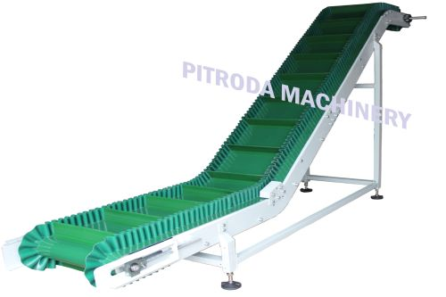 Sidewall Cleat Belt Conveyor