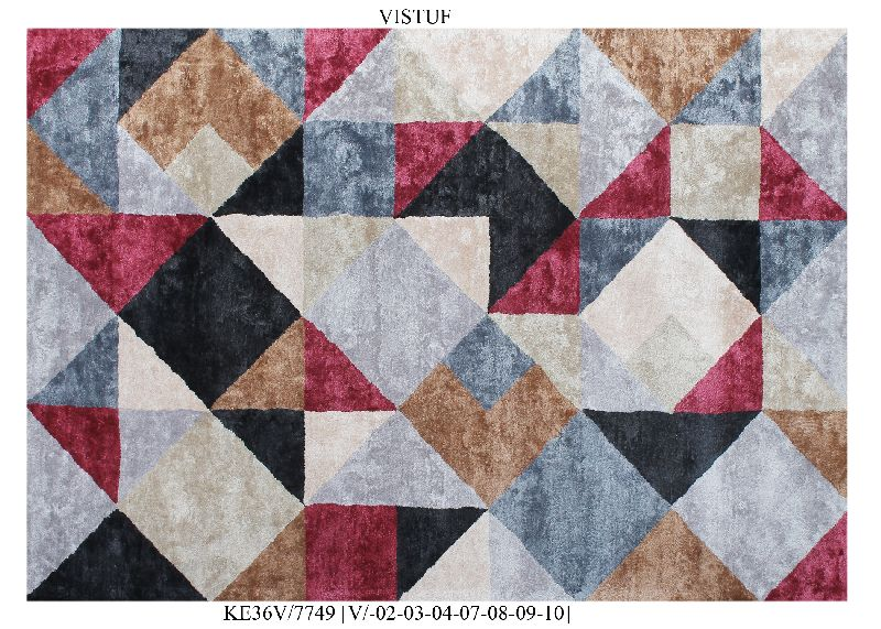 Hand Tufted Viscose Carpets & Rugs