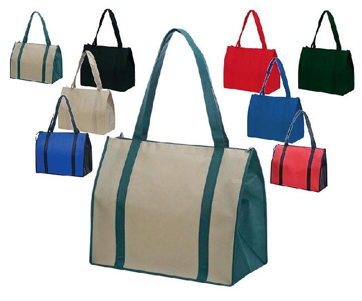 Non Woven Zipper Tote Bag