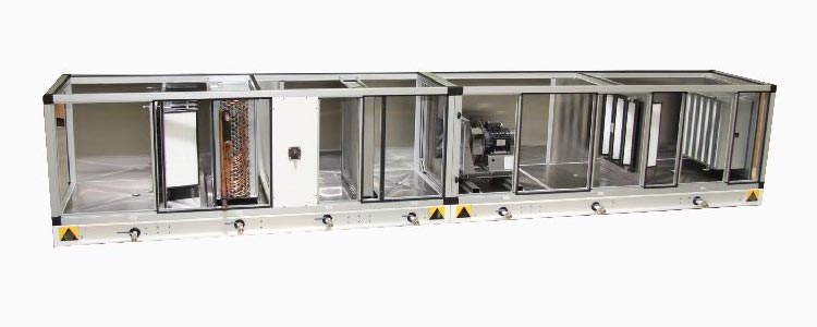 Hygienic air handling unit