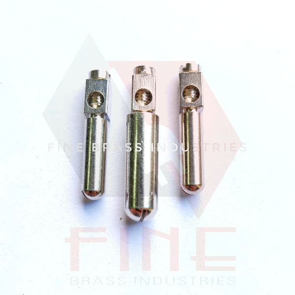 Brass Plug Pin Top