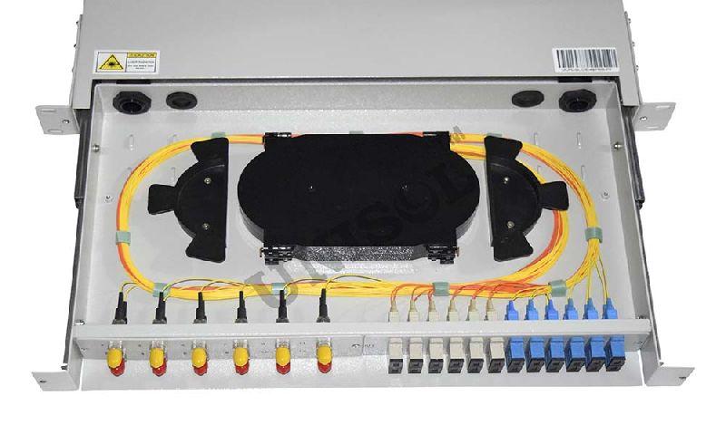 Mount Fiber Optic Patch Panel